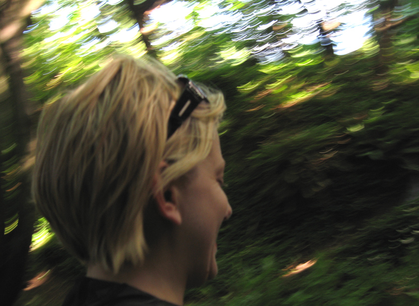 Jenna in the Woods
