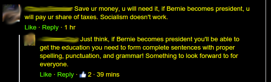 Bernie and the Grammar Champion